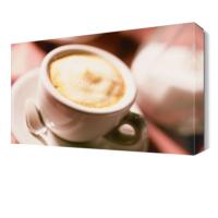 Dekor Sevgisi Kremalı Kahve Canvas Tablo 45x30 cm