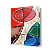 Dekor Sevgisi Dekoratif Gelincik Tablosu 45x30 cm