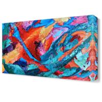 Dekor Sevgisi Renk Karnavalı2 Tablosu 45x30 cm