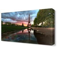 Dekor Sevgisi Eyfel Kulesi Tablosu 45x30 cm