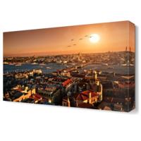 Dekor Sevgisi İstanbul Manzarası Tablosu 45x30 cm