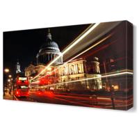 Dekor Sevgisi Londra Şehir Manzara Tablosu 45x30 cm