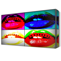 Dekor Sevgisi Pop Art Dudak Canvas Tablo 45x30 cm