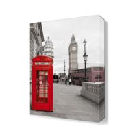 Dekor Sevgisi Londra Telefon Kulübesi 45x30 cm