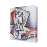 Dekor Sevgisi Dekoratif Geometrik Şekiller Tablo 45x30 cm