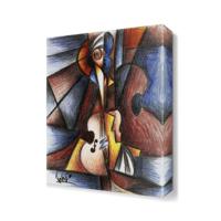 Dekor Sevgisi Dekoratif Gitar Tablosu 45x30 cm