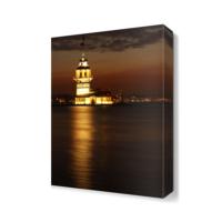 Dekor Sevgisi Kız Kulesi Gece Tablosu 45x30 cm