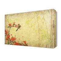 Dekor Sevgisi Küçük Serçeler Tablo 45x30 cm