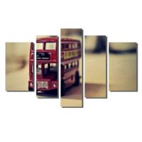 Dekor Sevgisi Oyuncak Araba Tablosu 84x135 cm