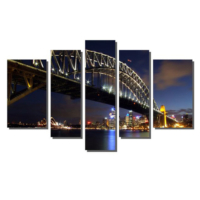Dekor Sevgisi Avusturalya Sidney Tablosu 84x135 cm