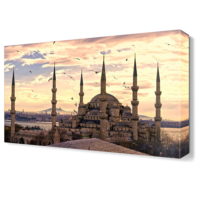 Dekor Sevgisi Sultanahmet Cami8 Canvas Tablo 45x30 cm