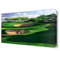 Dekor Sevgisi Golf Sahası Canvas Tablo 45x30 cm