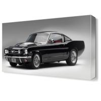 Dekor Sevgisi 1965 Mustang Fastback Canvas Tablo 45x30 cm