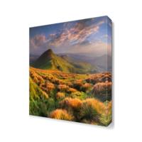 Dekor Sevgisi Dağ Manzarası Canvas Tablo 40x40 cm