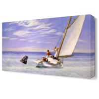 Dekor Sevgisi Dalgalarla Mücadele Canvas Tablo 45x30 cm