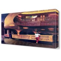 Dekor Sevgisi Opera Salonu Canvas Tablo 45x30 cm