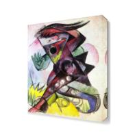 Dekor Sevgisi Franz Marc Caliban Canvas Tablo 45x30 cm