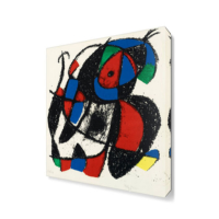 Dekor Sevgisi Joan Miro3 Canvas Tablo 45x30 cm