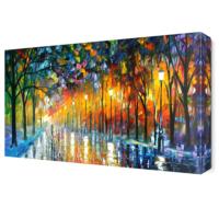 Dekor Sevgisi Akşamüstü Canvas Tablo 45x30 cm