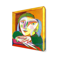 Dekor Sevgisi Kadın Canvas Tablo 40x40 cm