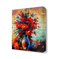 Dekor Sevgisi Bir Buket Güzellik Canvas Tablo 45x30 cm