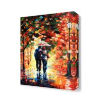 Dekor Sevgisi Günlük Romantizm Canvas Tablo 45x30 cm
