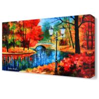 Dekor Sevgisi Büyüleyici Doğa Canvas Tablo 45x30 cm