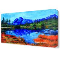 Dekor Sevgisi Shuksan Dağları Canvas Tablo 45x30 cm