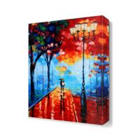 Dekor Sevgisi Romantizm2 Canvas Tablo 45x30 cm