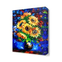 Dekor Sevgisi Ayçiçeği Canvas Tablo 45x30 cm