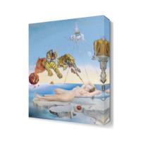 Dekor Sevgisi Vahşi Kaplanlar Canvas Tablo 45x30 cm