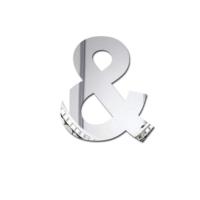 Decor Desing Dekoratif Harf Ayna Hv&