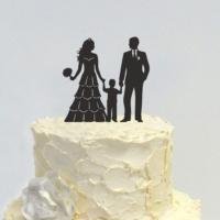 Decor Desing Pasta Üstü Süsü Cake029