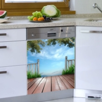 Decor Desing Beyaz Eşya Sticker Bev22