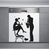 Decor Desing Beyaz Eşya Sticker Bev59