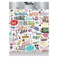 Decor Desing Beyaz Eşya Sticker Bul097