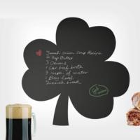 Decor Desing Yonca Yaprağı Yazılabilir Sticker Ys29