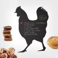 Decor Desing Tavuk Yazılabilir Sticker Ys30