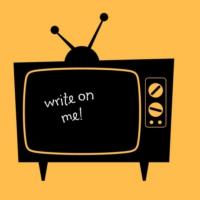Decor Desing Televizyon Yazılabilir Sticker Ys46