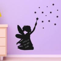 Decor Desing Peri Kızı Yazılabilir Sticker Ys48