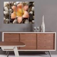 Decor Desing 5 Parçalı Dekoratif Tablo Bsrm002