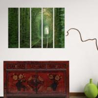 Decor Desing 5 Parçalı Dekoratif Tablo Bsrm016