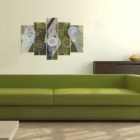 Decor Desing 5 Parçalı Dekoratif Tablo D5Tp68