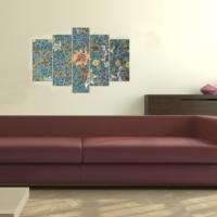 Decor Desing 5 Parçalı Dekoratif Tablo D5Tp98