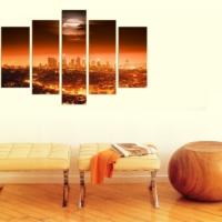 Decor Desing 5 Parçalı Dekoratif Tablo D5Tp124