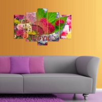 Decor Desing 5 Parçalı Dekoratif Tablo D5Tp155