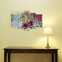 Decor Desing 5 Parçalı Dekoratif Tablo D5Tp160