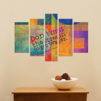 Decor Desing 5 Parçalı Dekoratif Tablo Dec067