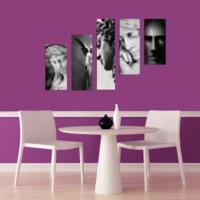 Decor Desing 5 Parçalı Dekoratif Tablo Dec078