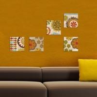Decor Desing Dekoratif 5'li Tablo Utb105
